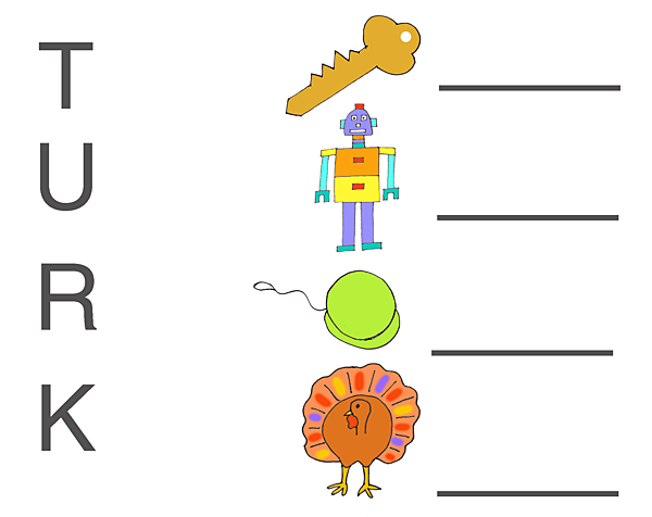 Thanksgiving worksheets – National Kindergarten Readiness