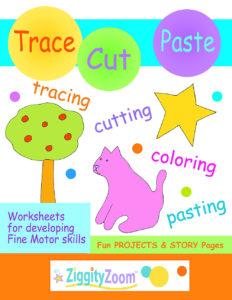 Tracing & Cutting Practice Workbook for Preschool