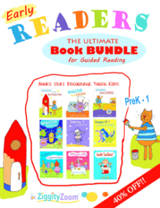Early Reader Kindergarten Book Bundle