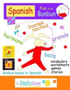 learn spanish for kids worksheets