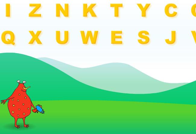 Kids Educational Game- Preschool Online Game- Letter Blaster