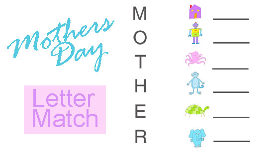 mothers day worksheet