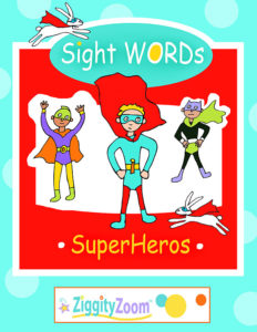 sight word and early reader workbook bundle